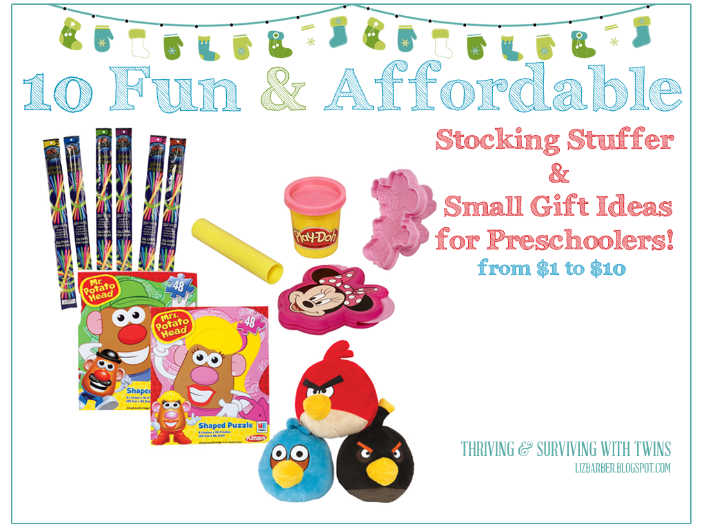10 Fun & Affordable Stocking Stuffer Ideas for Preschoolers