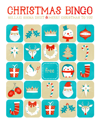Christmas Bingo Printable