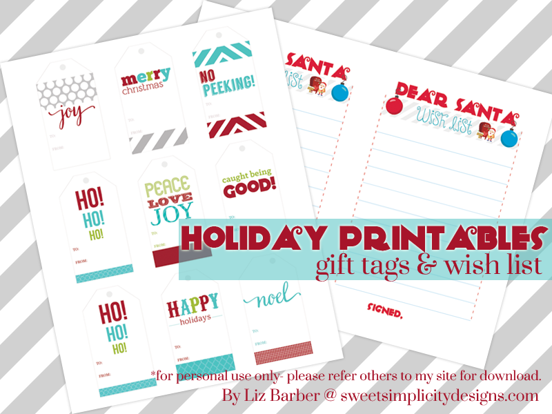 holiday-printables-gift-tags and wish lis