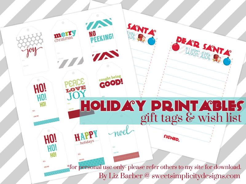 holiday-printables-gift-tags and wish lis