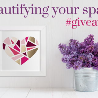 Beautifying my space // #Giveaway