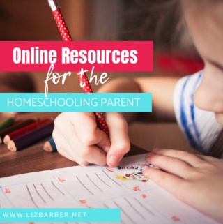 ONLINE RESOURCES FOR THE HOMESCHOOLING PARENT